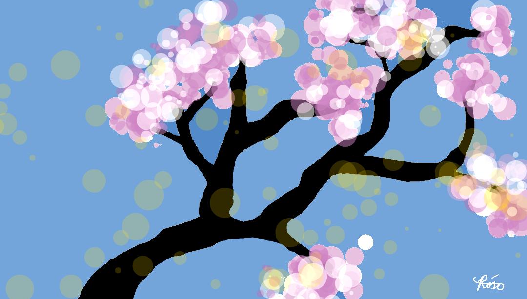 Mystic Cherry Blossom by fergrassia