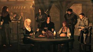 Skor : At the Green Dragon Inn