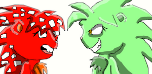 Flaky and Manby/Evil Mandy