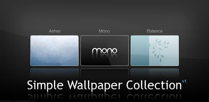 Simple Wallpaper Collection by c55inator