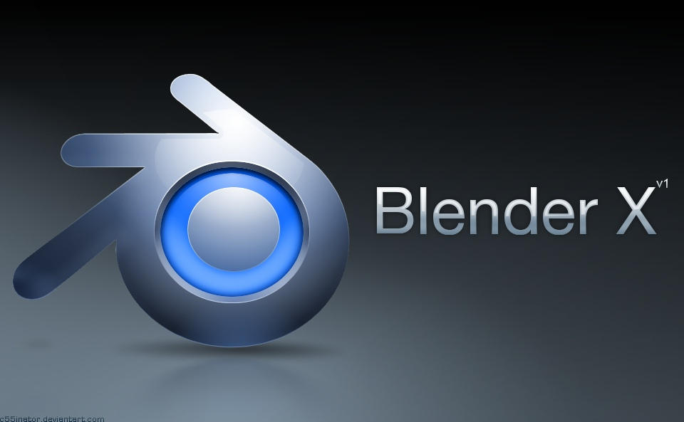 Blender X Icon by c55inator