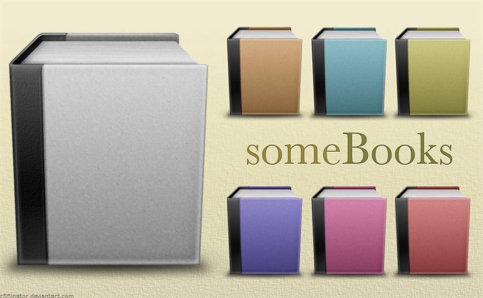 someBooks Icons
