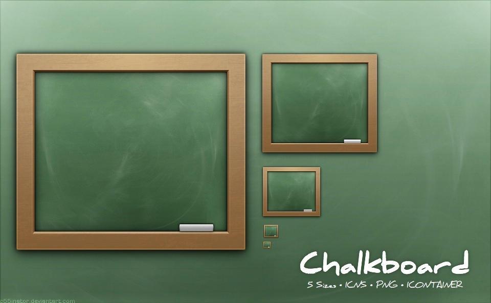 Chalkboard by c55inator