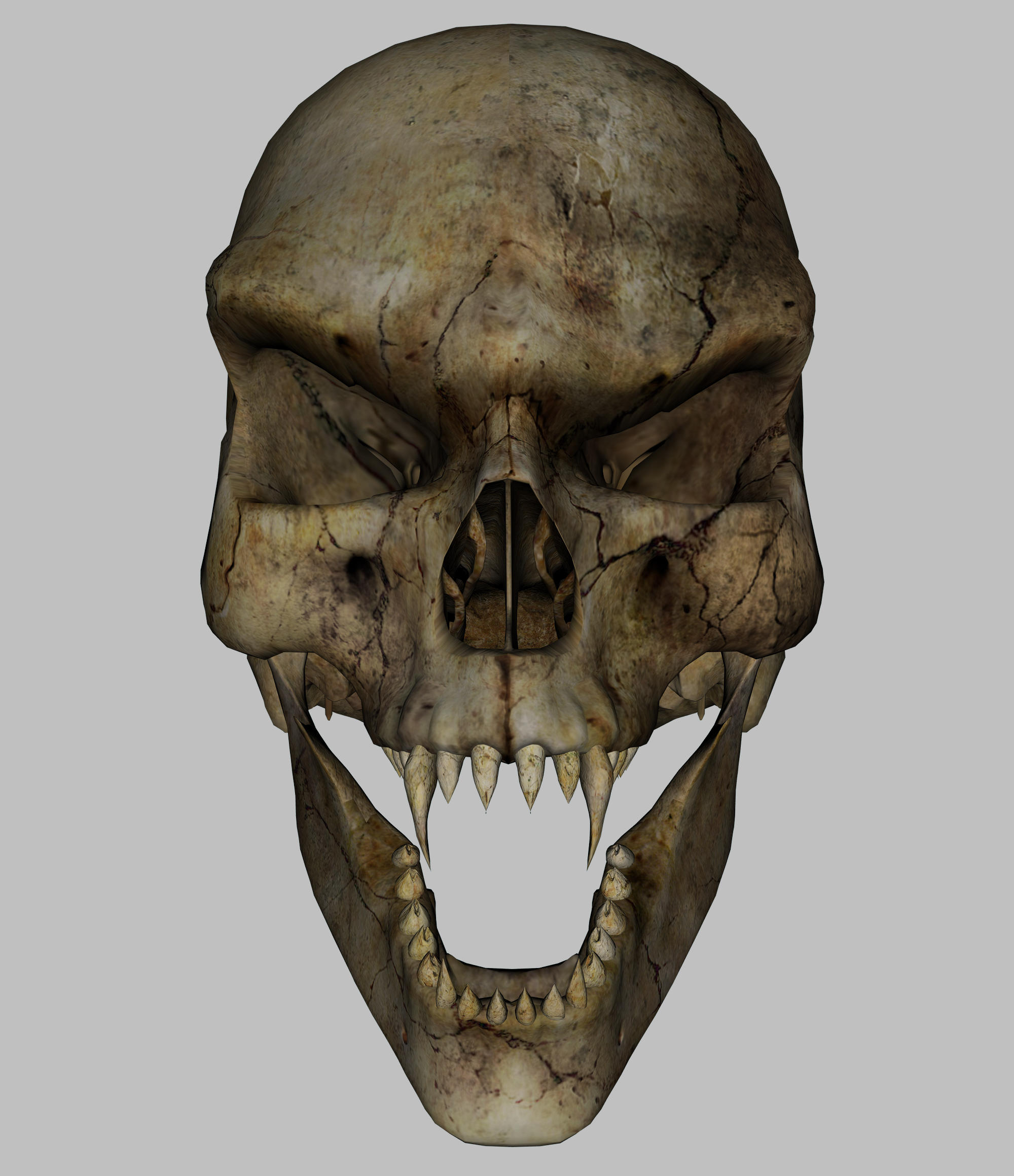Skull - Vampire 1 by markopolio-stock