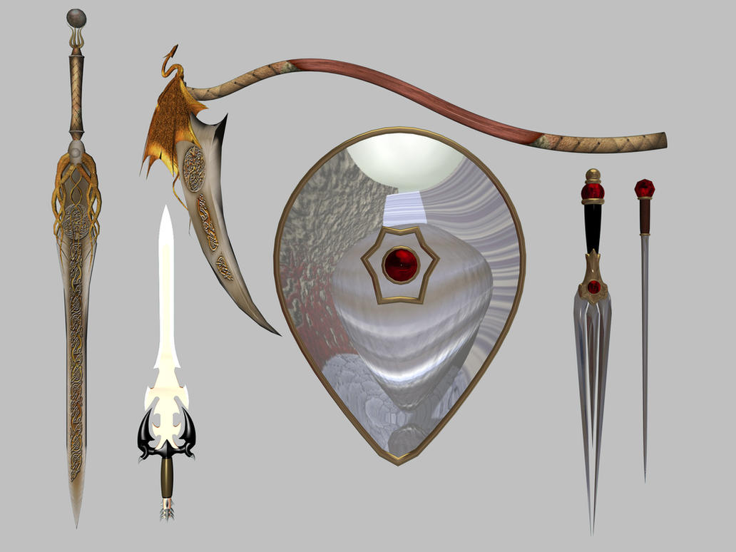 Weapons Set 1 by markopolio-stock