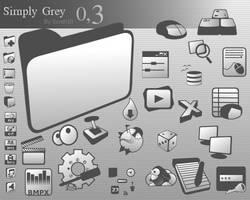 SimplyGrey 0.3 by Scnd101