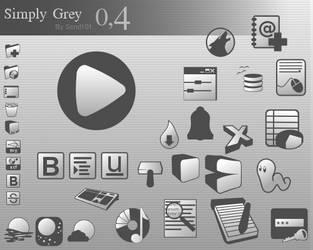 SimplyGrey 0.4 by Scnd101