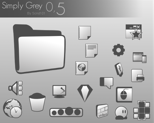 SimplyGrey 0.51 by Scnd101