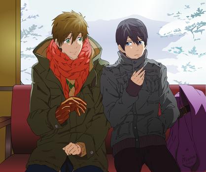 Free! - Makoharu Animation