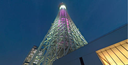 Tokyo: Skytree after Sunset