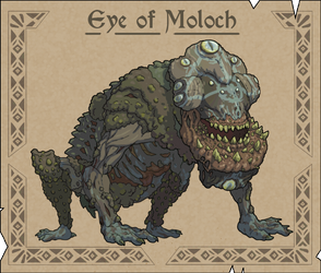 The Eye of Moloch by Joudrey