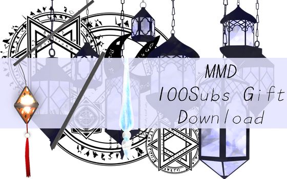 [MMD]- 100Subs YT Gift [+DL]