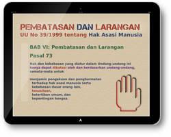 UU HAM (bright) - 073 - Pembatasan dan Larangan by nurwijayadi