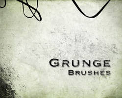Grunge brushes by darkrose42-stock