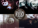 Celestial Moons of the Night
