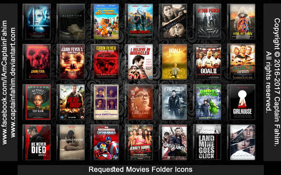 Requested Movies Folder Icons - Code #70000005