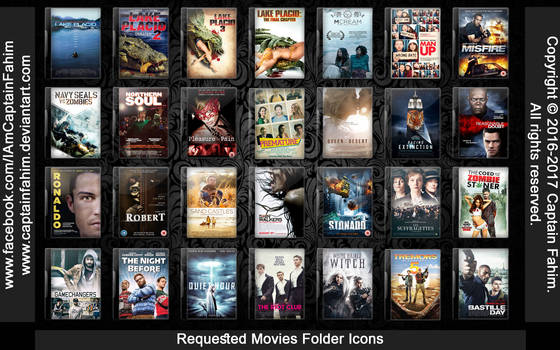 Requested Movies Folder Icons - Code #70000006