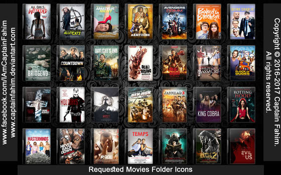 Requested Movies Folder Icons - Code #70000007