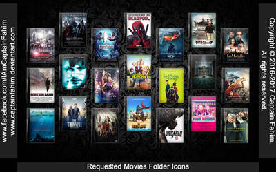 Requested Movies Folder Icons - Code #70000008