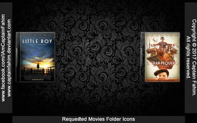Requested Movies Folder Icons - Code #70000009