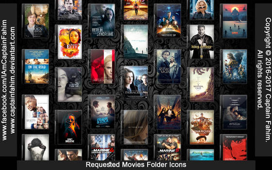 Requested Movies Folder Icons - Code #70000010