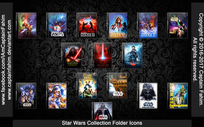 Star Wars Series Collection Folder Icon