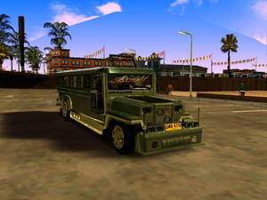 Milwaukee Custom Jeepney for GTA:San Andreas