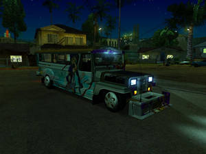 Auto Pormado (Znranomics V2) Jeepney for GTA:SA