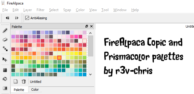 Palettes by r3v-chris by obtusity