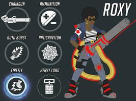 Overwatch Fan Heroes - Roxy, Russian Support Medic