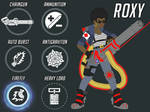 Overwatch Fan Heroes - Roxy, Russian Support Medic