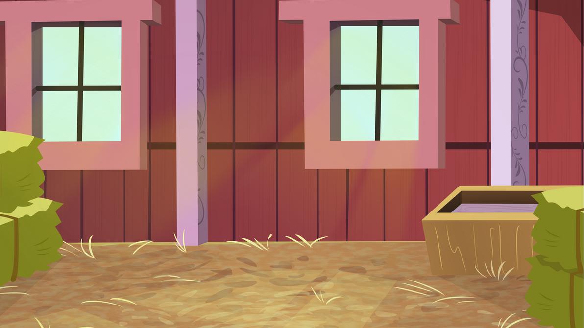 Barn Interior by Comeh...
