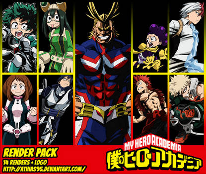 RENDER PACK - My Hero Academia