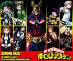 RENDER PACK - My Hero Academia