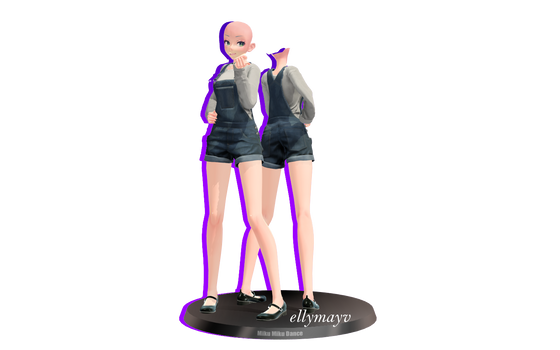 [MMD DL] Outfit Base #8