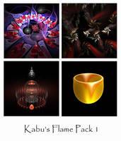 Kabu's Flame Pack 1 by Kabuchan