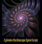 Cylinder Oscillo Spiral Script by Kabuchan