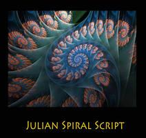 Julian Spiral Script by Kabuchan