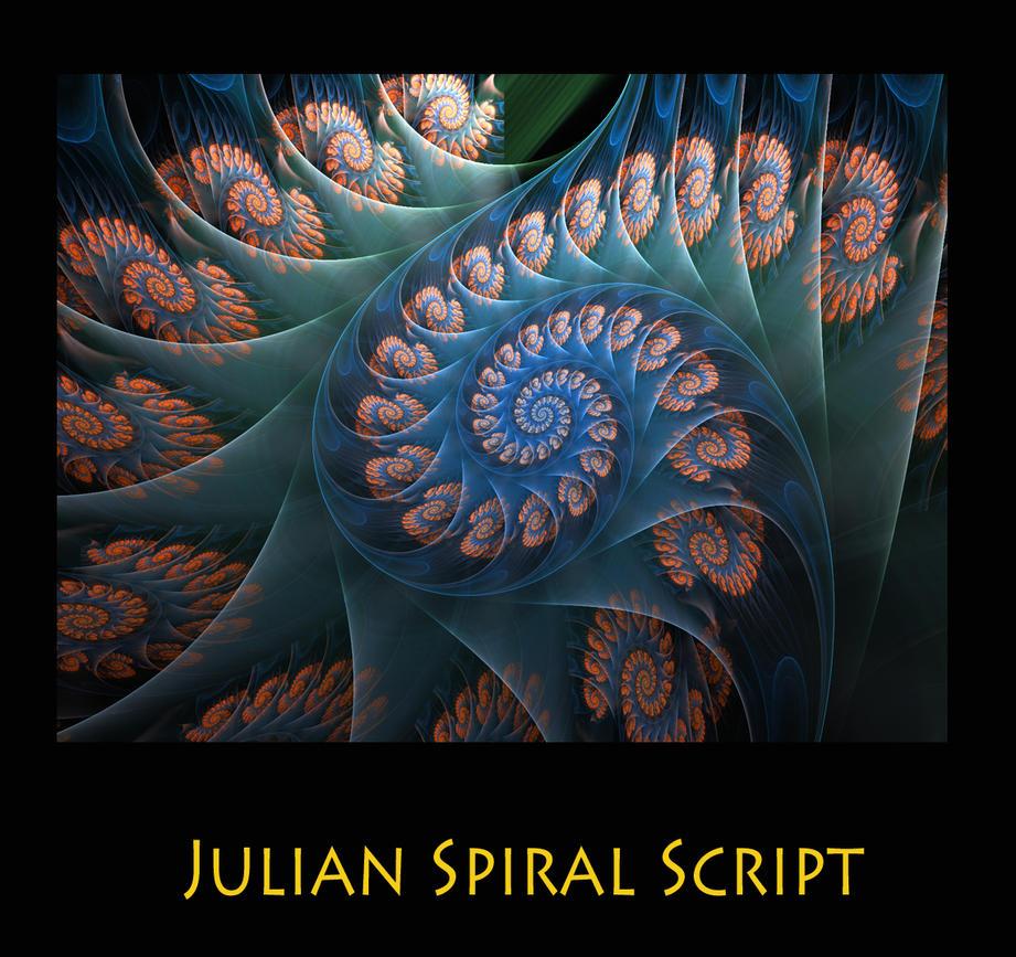 Julian spiral script by kabuchan on deviantart Script art