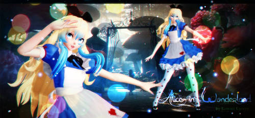 MMD MODEL Alice in Wonderland DL