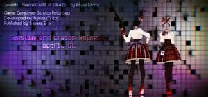 MMD Gunslinger Stratos Reloaded outfit DL