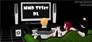 MMD Sims TVSet DL