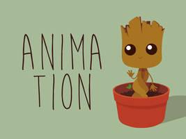 Baby Groot Animation by LorenzoSabia