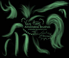 Very Hairy Brushes, Part 2 by arrsistable