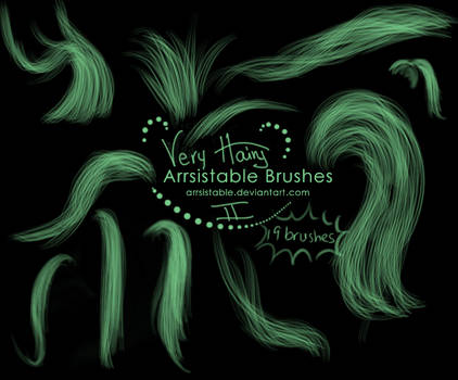 Very Hairy Brushes, Part 2