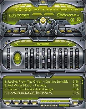 Bionica v2 classic green by 883design