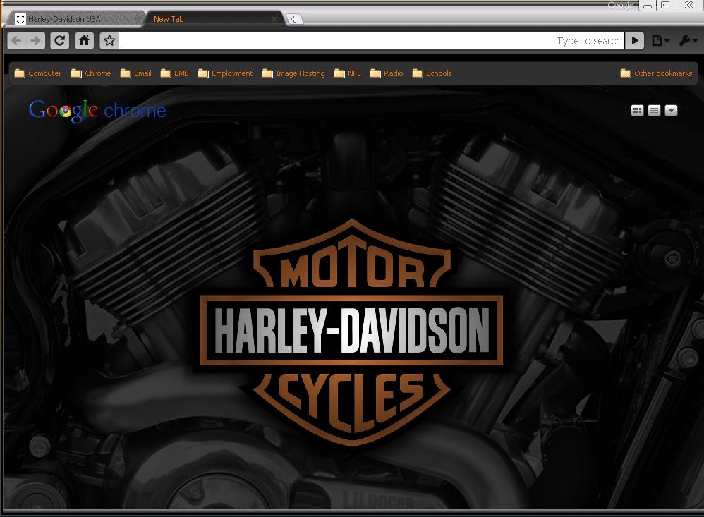 Harley Davidson Theme by wPfil
