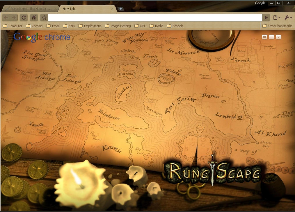 RuneScape by wPfil