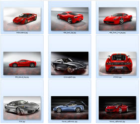 Ferrari Wallpaper Pack by devinandi