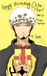 T-Law- Happy Birthday Ocha!!! by G4B2TER